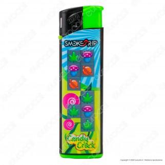 SmokeTrip Accendini Elettronici Ricaricabili Fantasia Candy Crack - 5 Accendini