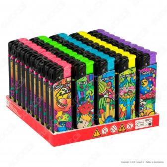 SmokeTrip Accendini Elettronici Ricaricabili Fantasia Fame Chimica - Box da 50 Accendini
