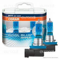 Osram Cool Blue Hyper+ Effetto Xenon HID - 2 Lampadine H11