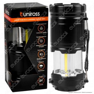 Uniross Torcia Torchlight Luminosa a Doppia Funzione con Banda laterale 3W