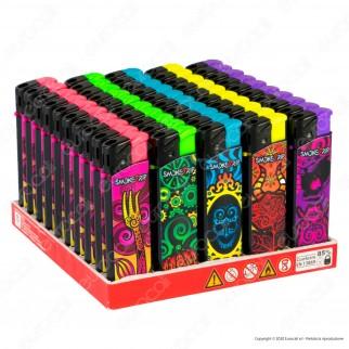 SmokeTrip Accendini Elettronici Ricaricabili Fantasia Cartoon - Box da 50 Accendini
