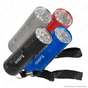 Uniross Torcia LED 9W Tascabile in Alluminio