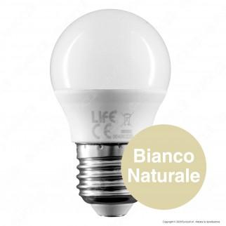 Life Lampadina LED E27 5W MiniGlobo G45