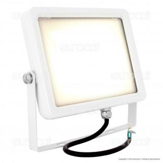 V-Tac VT-4850 Faretto LED SMD 50W Ultra Sottile da Esterno Colore Bianco