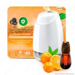 Air Wick Diffusore di Fragranze con Oli Essenziali - Diffusore con Ricarica Mandarino e Arancia Dolce da 20ml
