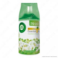 Air Wick Pure Freshmatic Fresia Bianca e Gelsomino Francese - Ricarica Spray da 250ml
