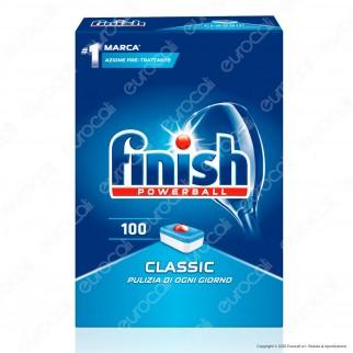 Finish Powerball Classic per Lavastoviglie - 100 Pastiglie