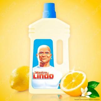 Mastro Lindo Detergente Multiuso al Limone - Flacone da 950ml