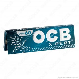 PROV-A00272011 - Cartine Ocb X-Pert Blu Corte - Scatola da 50 Libretti