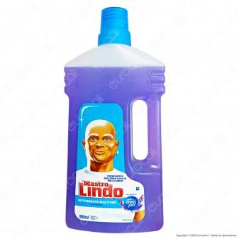 Mastro Lindo Detergente Liquido Multiuso alla Lavanda - Flacone da 950ml