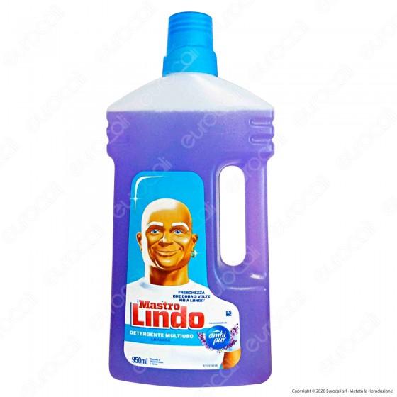 Mastro Lindo Detergente Multiuso alla Lavanda - Flacone da 950ml