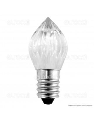 Life Lampada Votiva LED E14 0,5W Candela Fiamma 12V