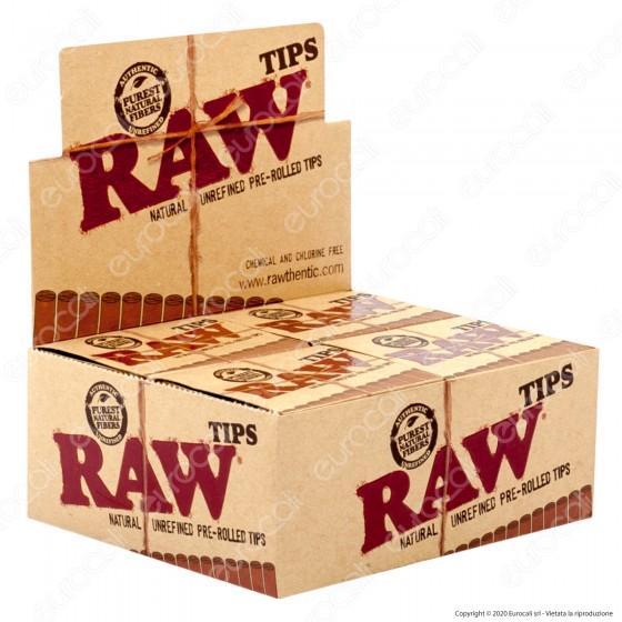 PROV-C01447040 - Raw Filtri In Carta Pre Rollati - Scatola da 20 Pacchetti