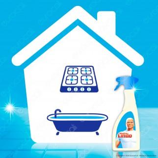 Mastro Lindo Detergente Multiuso Bagno - Spray da 500ml