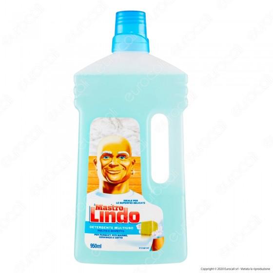 Mastro Lindo Detergente Liquido Multiuso Superfici Delicate - Flacone da 950ml