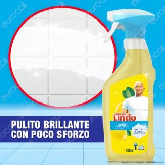 Mastro Lindo Detergente Multiuso Limone - Spray da 500ml