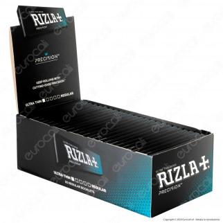 A00012002 - Cartine Rizla Precision Corte Ultra Thin Regular - Scatola da 50 Libretti