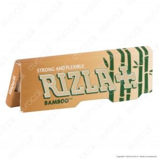 A00001002 - Cartine Rizla Bamboo Corte Ultra Thin Regular - Scatola da 50 Libretti