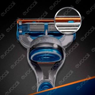 Gillette Fusion Lamette di Ricambio con 5 Lame per Uomo