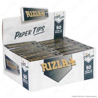 C00007002 - Rizla Paper Tips Filtri in Carta - Scatola da 50 Blocchetti