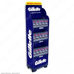 Gillette Espositore Rasoio Uomo Blue II Usa e Getta- 40 Confezioni da 5 Rasoi