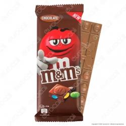 M&M's Chocolate Tavoletta di Cioccolato al Latte con Confetti al Cioccolato - Confezione da 165g