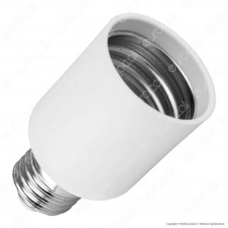LED Line Adattatore per Lampadine da E27 a E40 - mod. 246241