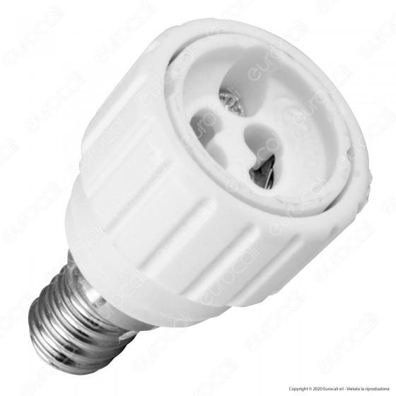LED Line Adattatore per Lampadine da E14 a GU10 - mod. 242069