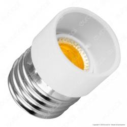 LED Line Adattatore per Lampadine da E27 a E14 - mod. 242076
