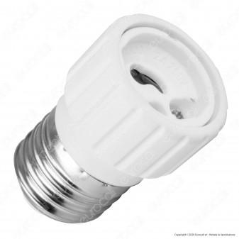 LED Line Adattatore per Lampadine da E27 a GU10 - mod. 242090