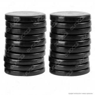 Depilia Brazilian Black Filmwax Cera Depilatoria in 20 Dischi senza Strisce per Ceretta 400ml