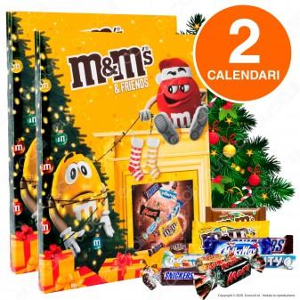 M&M's & Friends Calendario dell'Avvento - 2 Confezioni da 361g [TERMINATO]