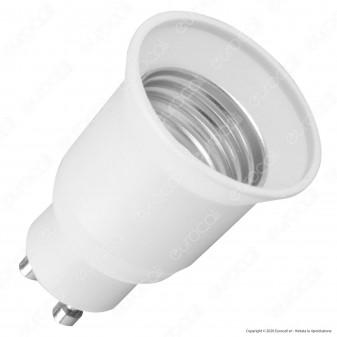 LED Line Adattatore per Lampadine da GU10 a E27 - mod. 242113