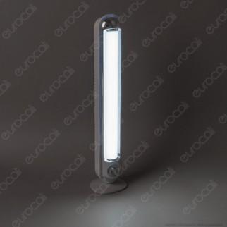 CFG Vega Lampada LED 15W Ricaricabile con Variatore di Intensità Luminosa Dimmerabile Anti Black Out - mod. EL073