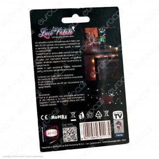 Intergross Luci Fatate Filo da 2 Metri con 20 LED Decorativi Multicolore a Batterie - mod. IGZ75