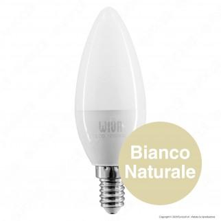 Wiva Lampadina LED E14 8W Candela- mod. 12100430 / 12100431 / 12100432