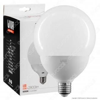 Wiva Lampadina LED E27 22W Globo G120 - mod. 12100448 / 12100449 / 12100450