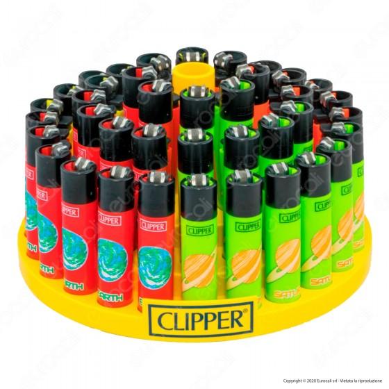 Clipper Large Fantasia Astronomic 1 - Box da 48 Accendini