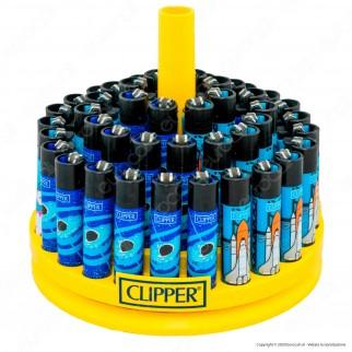 Clipper Large Fantasia Astronomic 3 - Box da 48 Accendini
