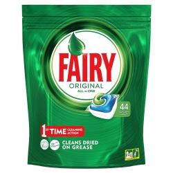Fairy Caps Original All in One per Lavastoviglie - Confezione da 44 Capsule