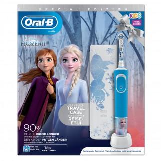 Oral-B Vitality Spazzolino Elettrico Frozen 2 Ricaricabile per Bambini a Partire da 3 Anni