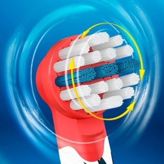 Oral-B Stages Power Testine di Ricambio Star Wars per Spazzolino Elettrico per Bambini - Confezione da 3 testine