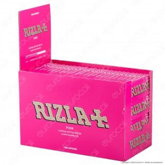 A00011002 - Cartine Rizla Pink Corte - Scatola da 100 Libretti