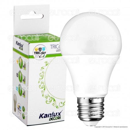 Kanlux TRIColor Lampadina LED E27 12W Bulb A60 3in1 -mod.22911