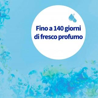 Vernel Ammorbidente Liquido Concentrato per Lavatrice con Profumo Blu Oxygen - Flacone da 1,3 Litri