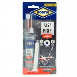 Bostik Fast Fix²Liquid Plastic Adesivo per Materiali Plastici - Flacone da 10g