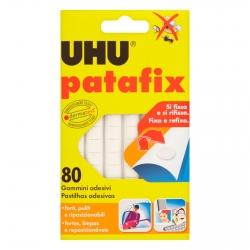 UHU Patafix Gomma Adesiva Removibile - Confezione da 80 Gommini