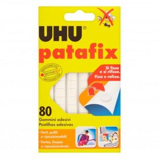 UHU Patafix Gomma Adesiva Rimuovibile - Confezione da 80 Gommini