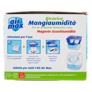 Air Max Magnete Mangia Umidità Ultra Assorbente per Air Max Moisture Absorber - Confezione con 2 Tabs da 450g