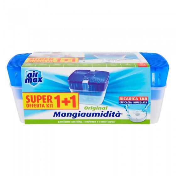 Air Max Mangiaumidità 1+1 - Kit con 1 Dispositivo e 1 Tabs da 450g